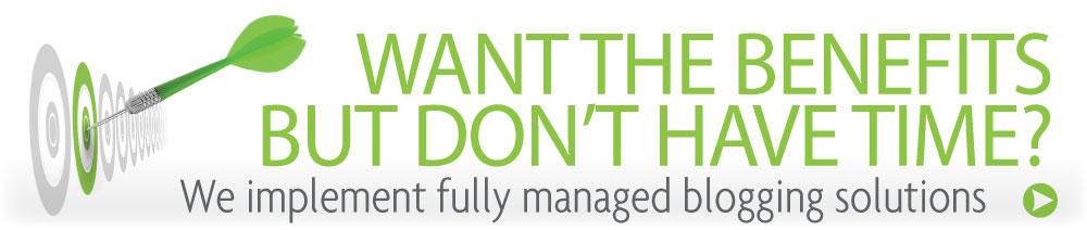 Managed Blogging Solutions