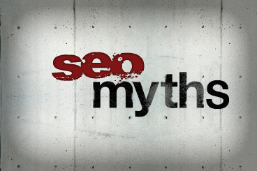 SEO myths and practices sign