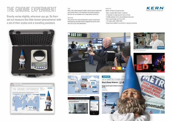 marketing strategy precision scales calibration the gnome experiment 600 17082