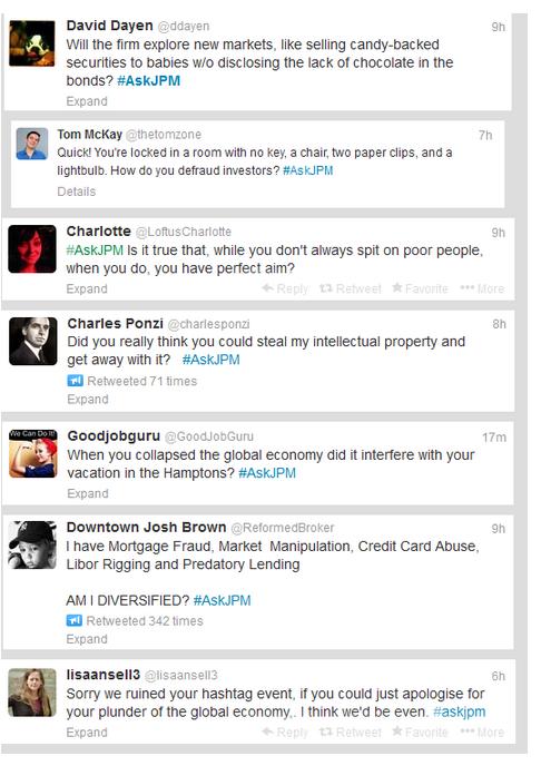 askJPM Social media marketing plan
