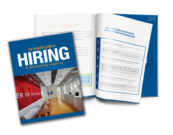 complete guide to hiring a marketing agency