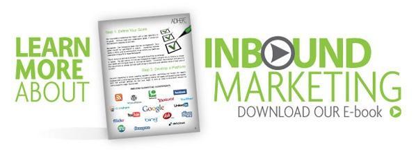 learn more about inbound marketing. download our ebook