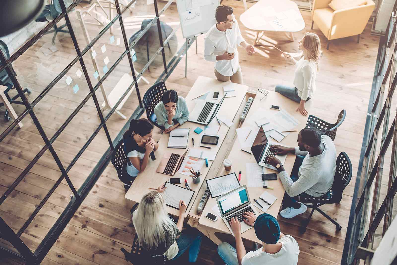 The Value of a One-Team Structure in Marketing